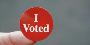 Nicole Schlinger I Voted